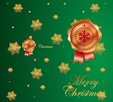 Christmas stamp potrait