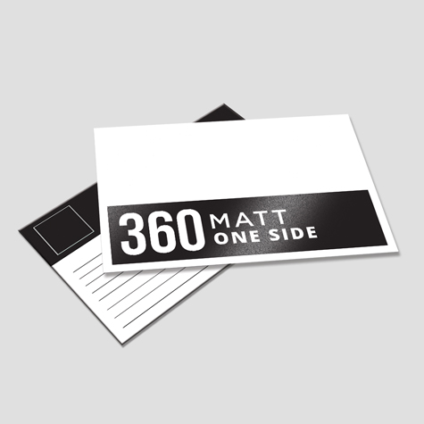 360 Matt One Side